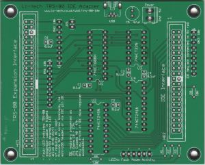lo-tech TRS-80 IDE Adapter