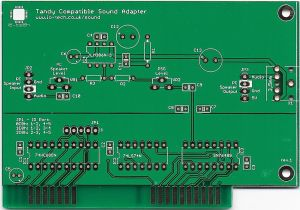 Lo-tech Tandy Compatible Sound Adapter PCB