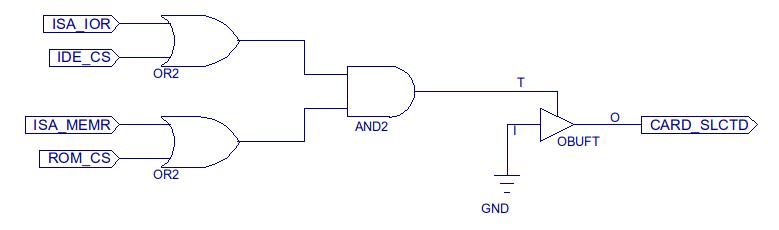 ISA-B8-CPLD-Logic