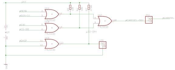 Lo-tech ISA CompactFlash Adapter SMT Logic