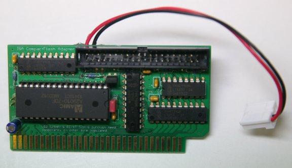 Lo-tech ISA CompactFlash Adapter
