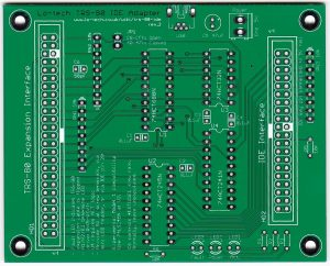 Lo-tech-trs-80-ide-adapter-pcb-rev2