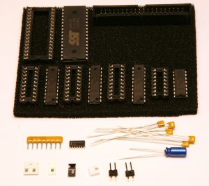 ISA CompactFlash Parts Kit Contents