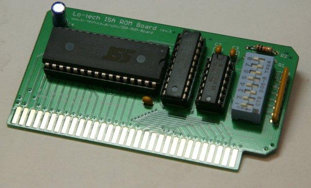 ISA ROM Board Kit - Ideal for BIOS Development