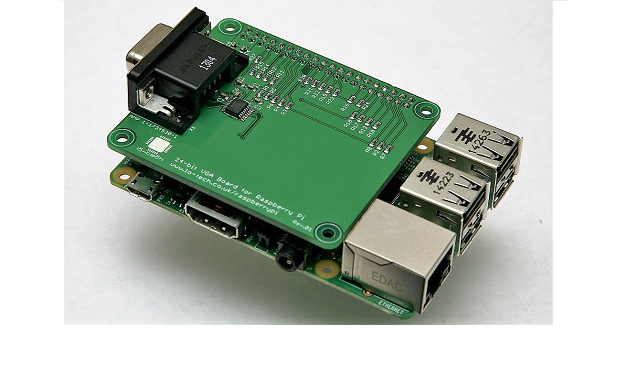 New! Raspberry Pi VGA HAT with 24-bit colour